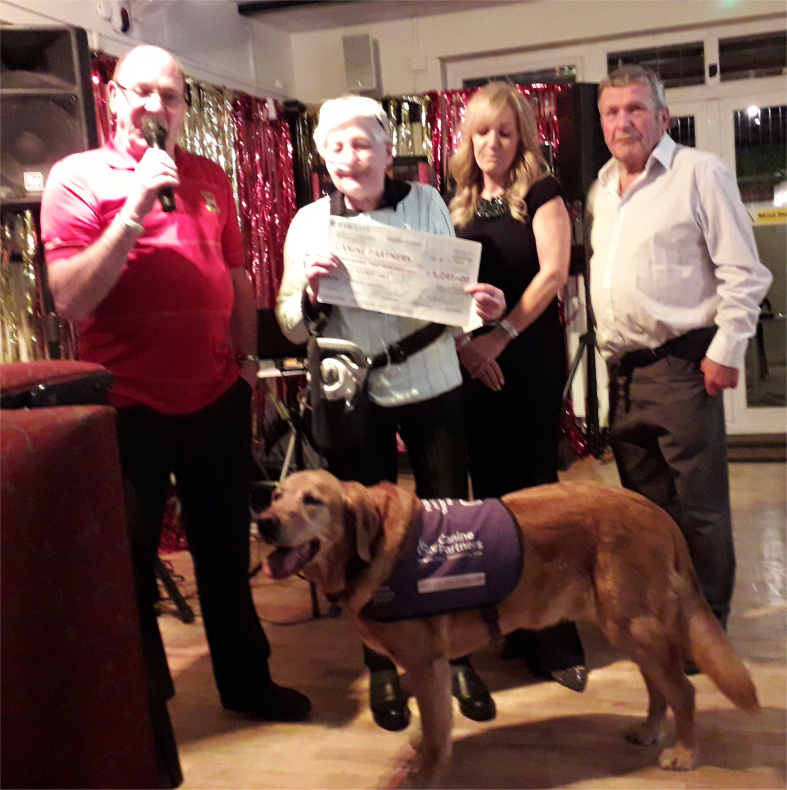 CHARITY PRESENTATION EVENING - 30th March 2019