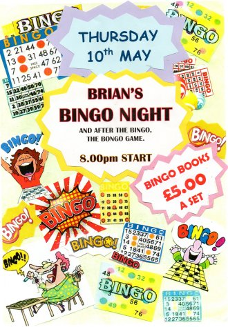 Brian's Bingo Night
